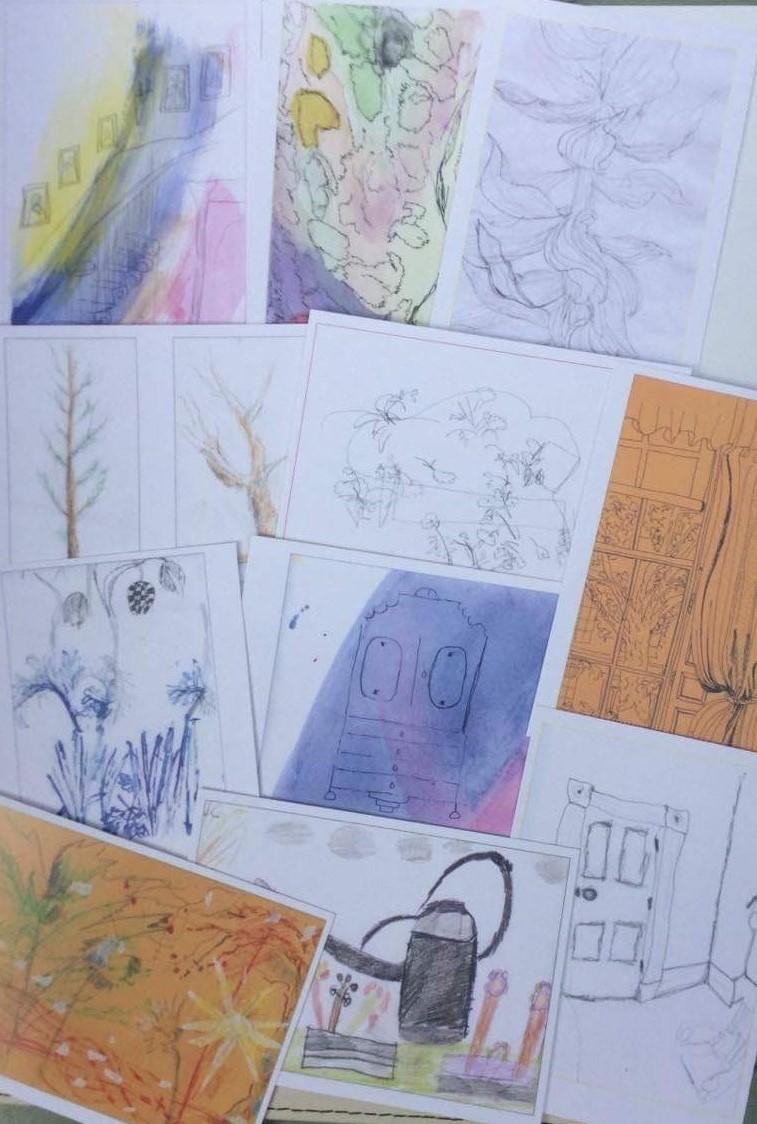 Postcard - sketches (2)